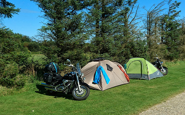 Campingplads i hirtshals. tornby strand camping