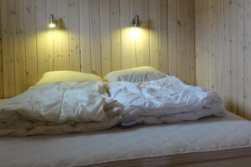 Ferie I Familiehytte Med Bad Og Toilet Tornby Strand Camping Hirtshals