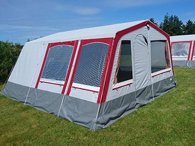 Udlejningsvogne og telte Tornby Strand Camping Glampingtelte
